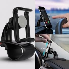 Auto telefoonhouder universeel · 360° klembevestiging dashboard · Cacious