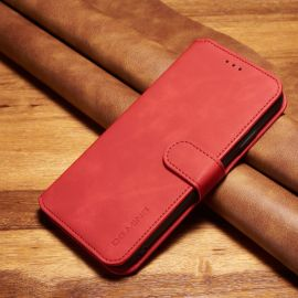 iPhone XS Max Portemonnee Hoesje - Rood PU-leer - DG.Ming