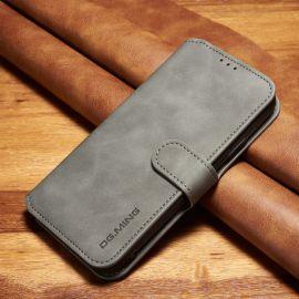 iPhone XR Portemonnee Hoesje - Grijs PU-leer - DG.Ming