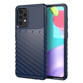 Samsung Galaxy A52 High Impact Hoesje Donkerblauw - Cacious (Forca Serie)