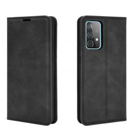 Samsung Galaxy A52 Portemonnee Hoesje Zwart - Cacious (Wallet Serie)