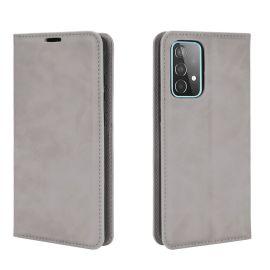 Samsung Galaxy A52 Portemonnee Hoesje Grijs - Cacious (Wallet Serie)
