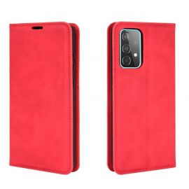 Samsung Galaxy A52 Portemonnee Hoesje Rood - Cacious (Wallet Serie)