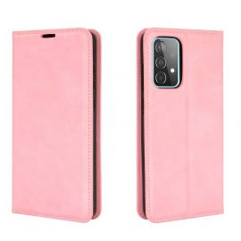 Samsung Galaxy A52 Portemonnee Hoesje Roze - Cacious (Wallet Serie)