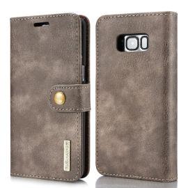 Samsung Galaxy S8 Leren Portemonnee Hoesje - Bruine 2-in-1 Cover - DG.Ming