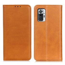 Xiaomi Redmi Note 10 Pro Portemonnee Hoesje Camel - Cacious (Wallet Serie)