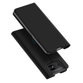 Asus Zenfone 7 (en 7 Pro) Bookcase Hoesje Zwart - Dux Ducis (Skin Serie)