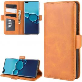 Huawei P40 Pro Hoesje - Book Cover Camel by Cacious (Element serie)