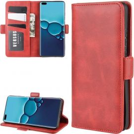 Huawei P40 Hoesje - Book Cover Rood by Cacious (Element serie)