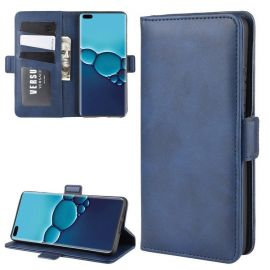 Huawei P40 Hoesje - Book Cover Blauw by Cacious (Element serie)