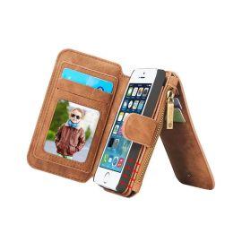 iPhone 5(S) / SE Hoesje · Luxury Wallet Case · Portemonnee hoes by CaseMe