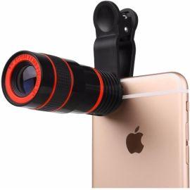 Clip-on Smartphone Zoom- / Telescooplens - o.a. geschikt voor iPhone