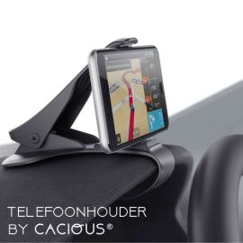 Auto telefoonhouder universeel · Klembevestiging dashboard · Cacious