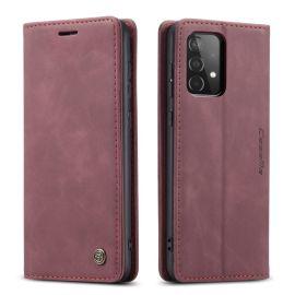 Samsung Galaxy A52 Slank Book Case Hoesje Rood - Caseme (013 Serie)