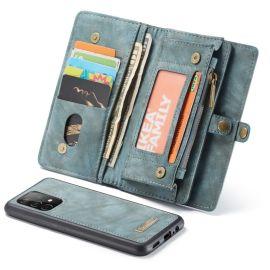 Samsung Galaxy A52 Blauw Hoesje met Portemonnee - Caseme (2-in-1 Serie)