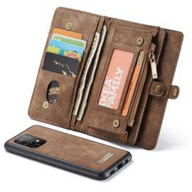 Samsung Galaxy A52 Bruin Hoesje met Portemonnee - Caseme (2-in-1 Serie)