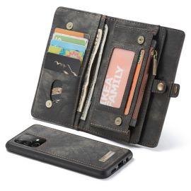 Samsung Galaxy A52 Grijs Hoesje met Portemonnee - Caseme (2-in-1 Serie)