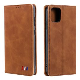 iPhone 13 Portemonnee Hoesje Camel - Cacious (Wallet Serie)