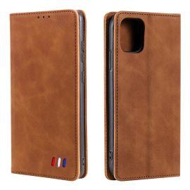 iPhone 13 Mini Portemonnee Hoesje Camel - Cacious (Wallet Serie)