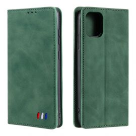 iPhone 13 Mini Portemonnee Hoesje Groen - Cacious (Wallet Serie)
