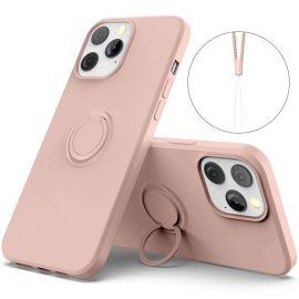 iPhone 13 Pro Max Dun Hoesje - Oud Roze - Cacious (Nude Serie)