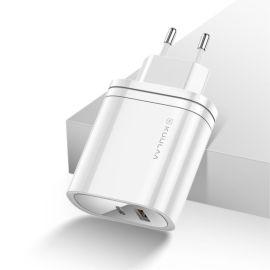 Witte Kuulaa 36W oplader met usb-C en usb-A poort - Power Delivery / QC 3.0
