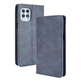Motorola Moto G100 Portemonnee Hoesje Blauw - Cacious (Wallet Serie)
