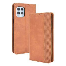 Motorola Moto G100 Portemonnee Hoesje Bruin - Cacious (Wallet Serie)