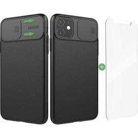Nillkin iPhone 11 Pro hoesje - Shock Proof Hard Case - Met Camera Beschermer