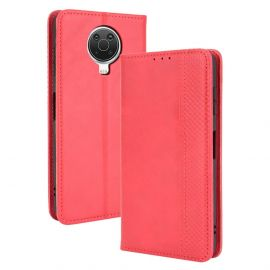 Nokia G10/G20 Portemonnee Hoesje Rood - Cacious (Wallet Serie)