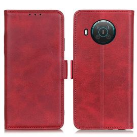 Nokia X10/X20 Portemonnee Hoesje Rood - Cacious (Wallet Serie)