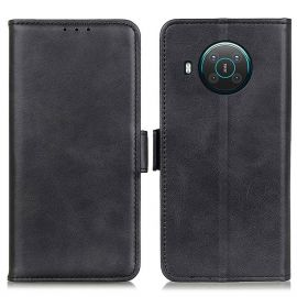 Nokia X10/X20 Portemonnee Hoesje Zwart - Cacious (Wallet Serie)