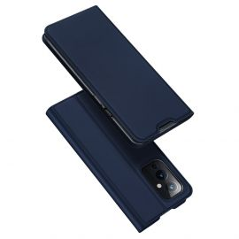 OnePlus 9 Bookcase Hoesje Donkerblauw - Dux Ducis (Skin Serie)