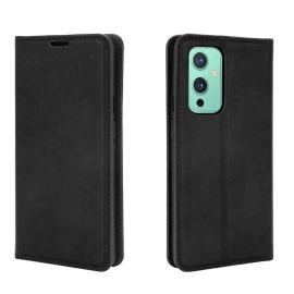 OnePlus 9 Portemonnee Hoesje Zwart - Cacious (Wallet Serie)