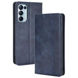 Oppo Find X3 Lite Portemonnee Hoesje Blauw - Cacious (Wallet Serie)