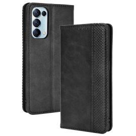 Oppo Find X3 Lite Portemonnee Hoesje Zwart - Cacious (Wallet Serie)