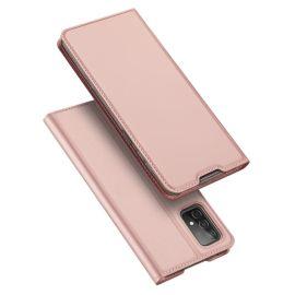 Samsung Galaxy A52 Bookcase Hoesje Roze - Dux Ducis (Skin Serie)