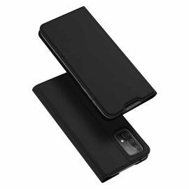 Samsung Galaxy A52 Bookcase Hoesje Zwart - Dux Ducis (Skin Serie)