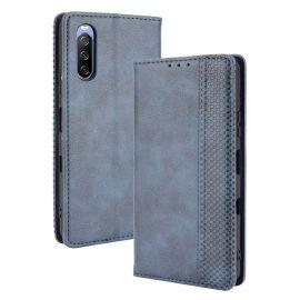 Sony Xperia 10 III Portemonnee Hoesje Blauw - Cacious (Wallet Serie)