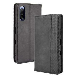 Sony Xperia 10 III Portemonnee Hoesje Zwart - Cacious (Wallet Serie)