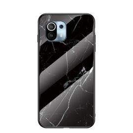 Xiaomi Mi 11 Hoesje Zwart Marmer - Cacious (Marble Serie)