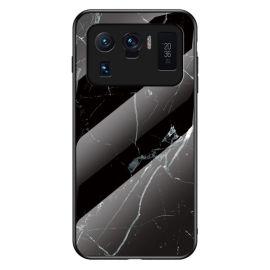 Xiaomi Mi 11 Ultra Hoesje zwart Marmer - Cacious (Marble Serie)