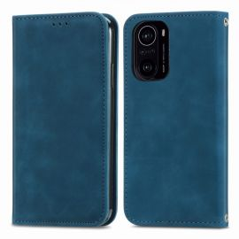Xiaomi Mi 11i Portemonnee Hoesje Blauw - Cacious (Wallet Serie)