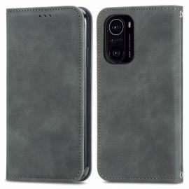 Xiaomi Mi 11i Portemonnee Hoesje Grijs - Cacious (Wallet Serie)