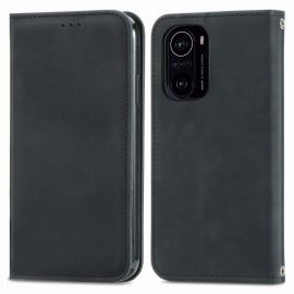 Xiaomi Mi 11i Portemonnee Hoesje Zwart - Cacious (Wallet Serie)