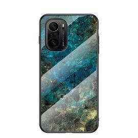Xiaomi Mi 11i Hoesje Blauw Marmer - Cacious (Marble Serie)