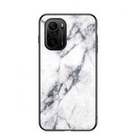 Xiaomi Mi 11i Hoesje wit Marmer - Cacious (Marble Serie)