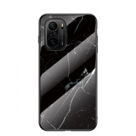 Xiaomi Mi 11i Hoesje zwart Marmer - Cacious (Marble Serie)