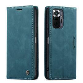 Xiaomi Redmi Note 10 Pro Slank Book Case Hoesje Blauw - Caseme (013 Serie)