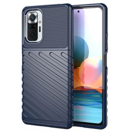 Xiaomi Redmi Note 10 Pro High Impact Hoesje Donkerblauw - Cacious (Forca Serie)